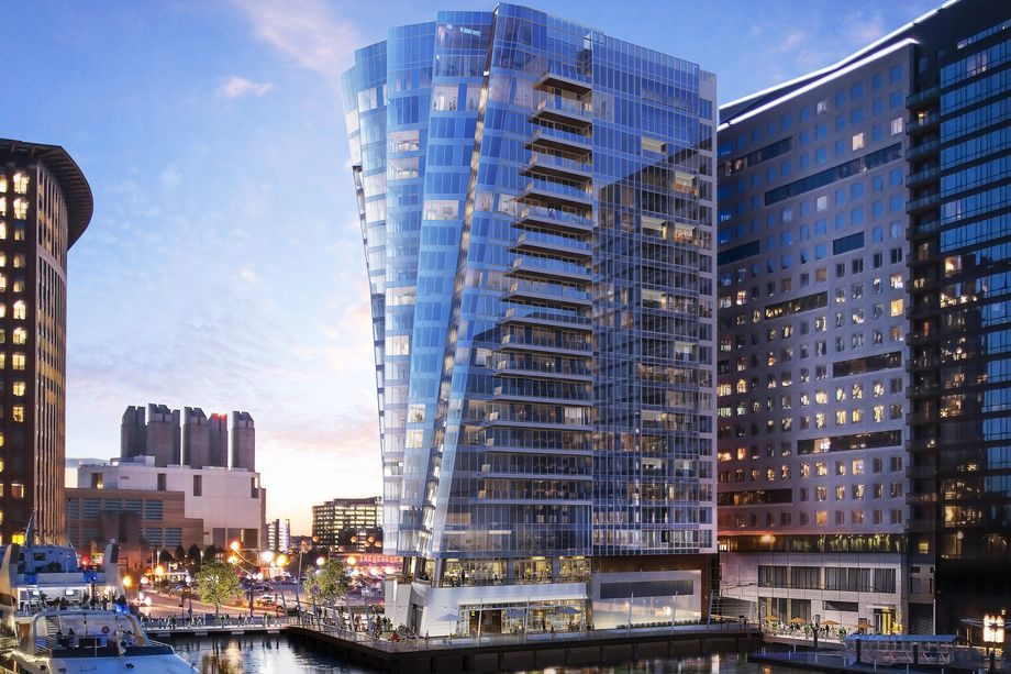 The St. Regis Residences Tower in the Seaport
